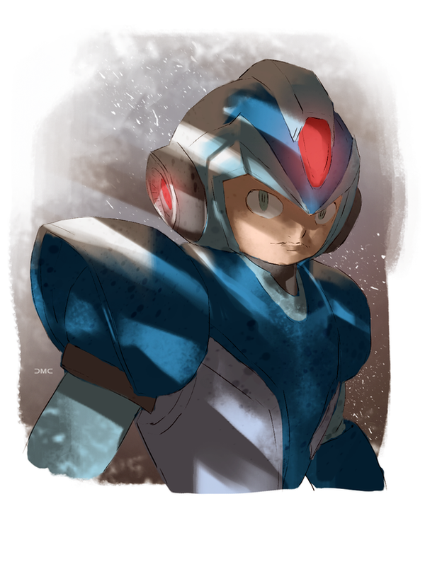 Megaman by danielmchavez