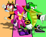 Team Chaotix by KateSempai46