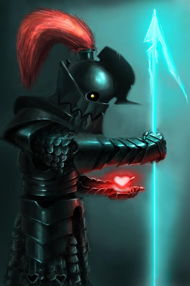 Undyne - Seven Souls by RobTromans