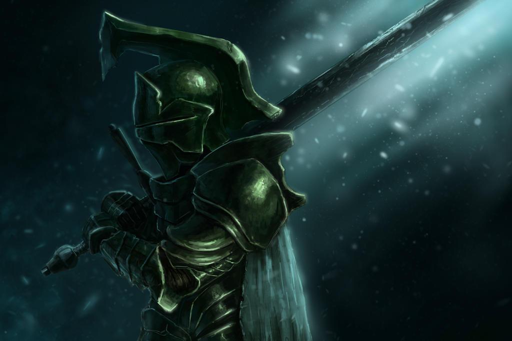 Green Knight by RobTromans