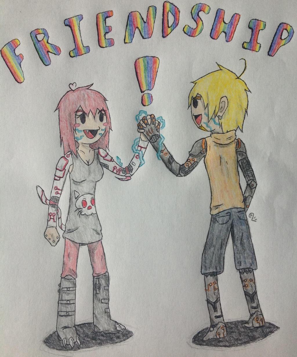 Friendship Poster Serina Ver By CXVII