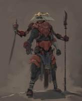 Mechanized Samurai by Parkhurst