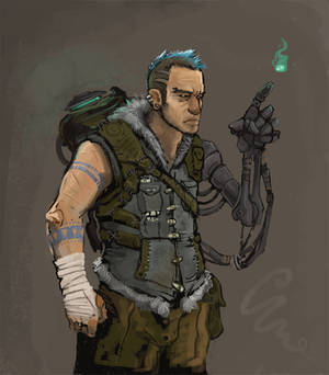 post-apocalyptic ghostbuster