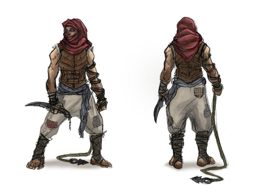Fantasy Desert Clothing