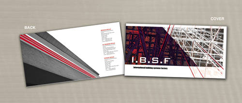I.B.S.F catalog cover by bdpqbd