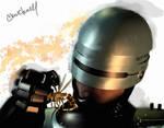 RoboCop watercolor