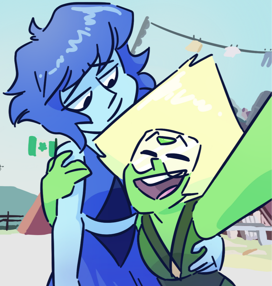at least til lapis decided to b a pussy and peace out shdjbbfdf [DRAWN ON FEBRUARY 2018]
