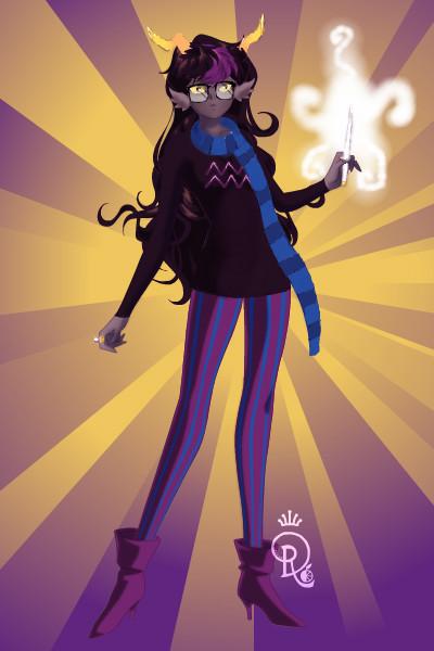 Female!Eridan by Ender-Wiggin12