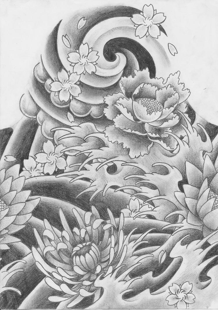 Traditional japanese tattoo by keepermilio on deviantart for Japanese tattoo art