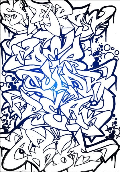 Graffiti Flower Sketches Graffiti Sketch by