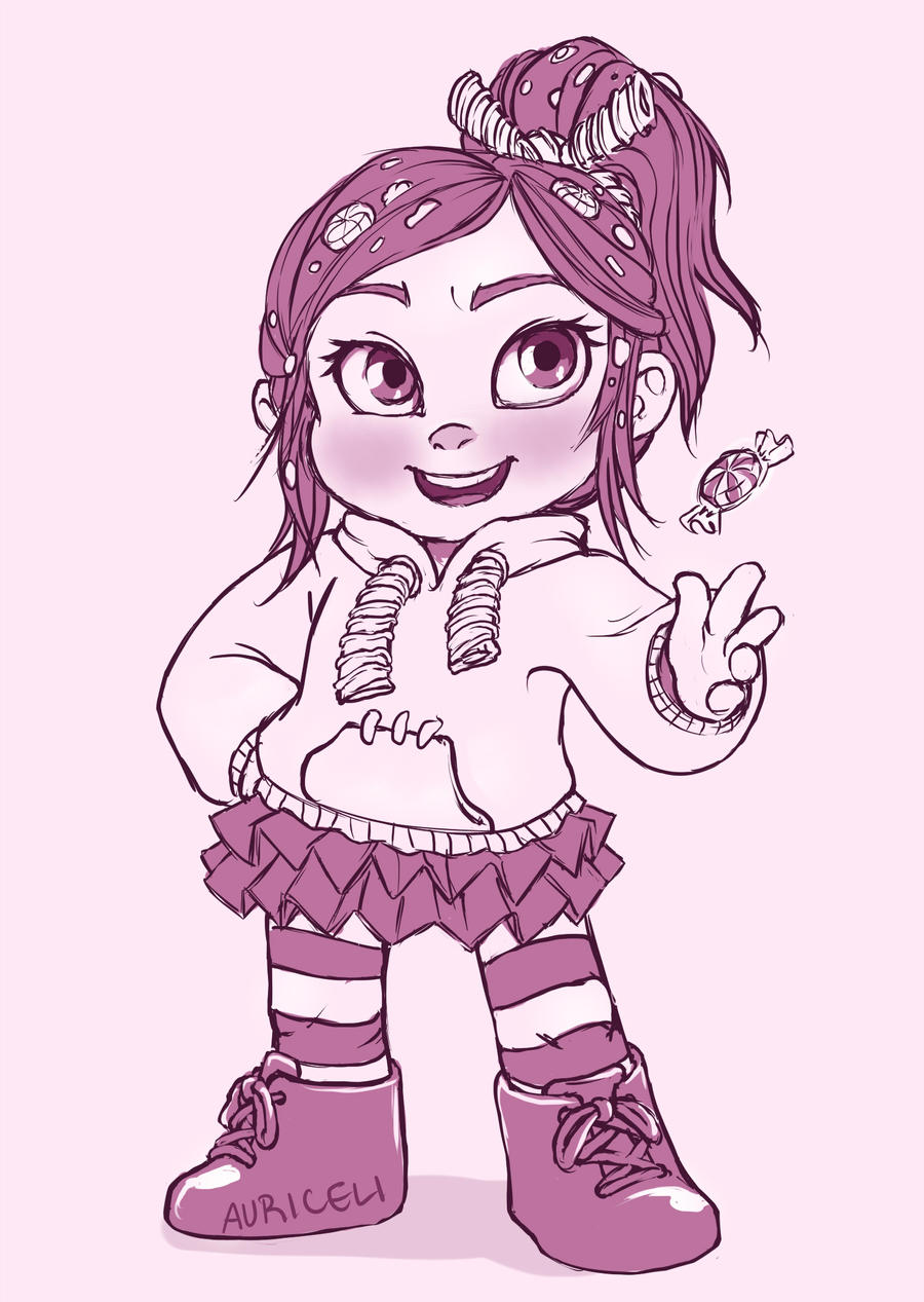Vanellope by auriceli