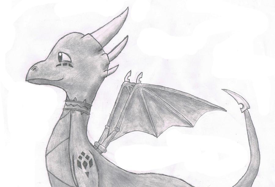 Cynder Drawing By Razortheedragon On DeviantArt