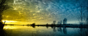 Kiesschacht, panaroma by DonaldPipowitch