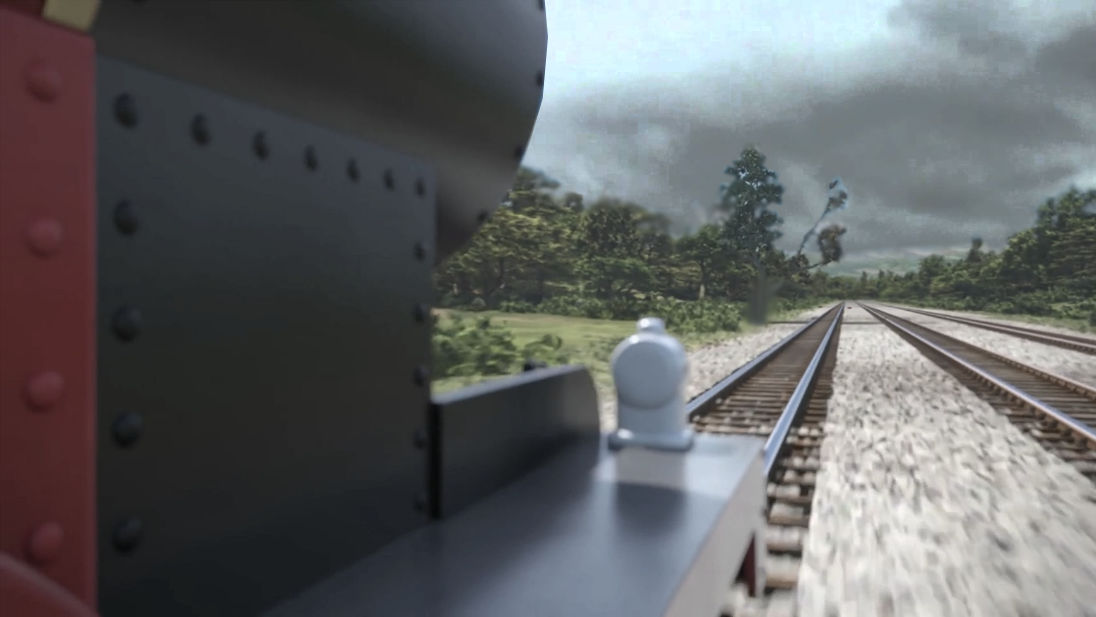 James and the Trouble with Trees CGI