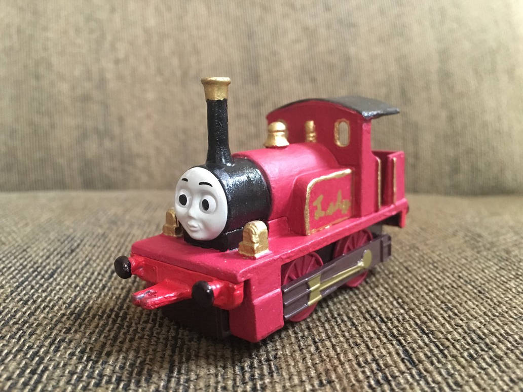 ERTL Lady Repainted by SlickVideoProduction on DeviantArt