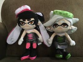 Squid Sisters Plushies