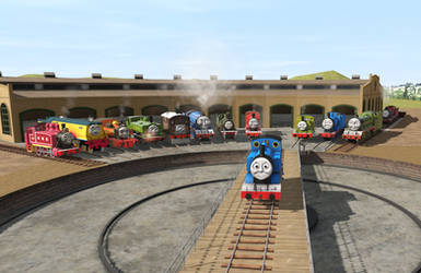 TRS2019 - Thomas and his Friends
