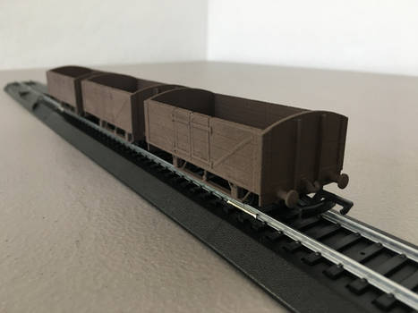 HO/OO Scale China Clay Wagons