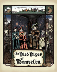 The Pied Piper of Hamelin by inasmuch