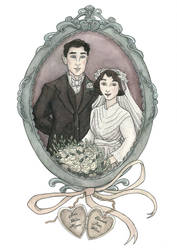 Vintage Wedding Recreation by inasmuch