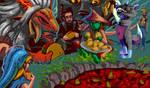 Island Taco Feast by BurningGates-Artists