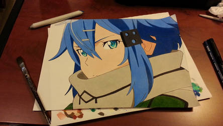 Sinon - SAO final by AutismFueledArt