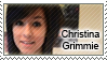 Christina Grimmie Stamp by SilverStamps