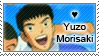 Yuzo Morisaki Stamp by SilverStamps