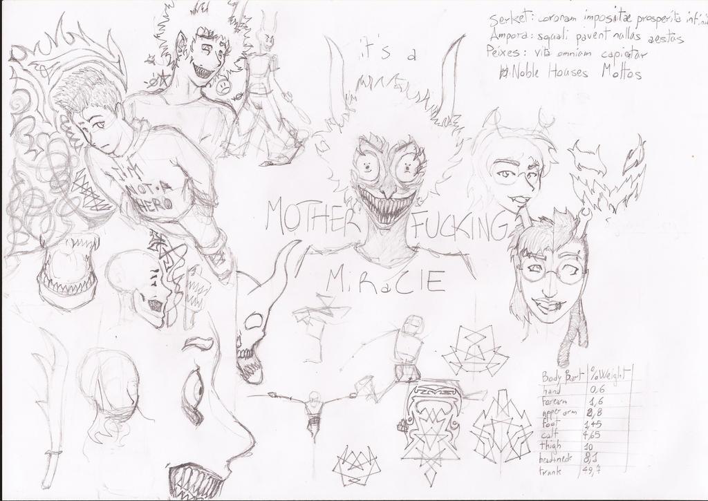Sketchdump 01/15 (1) by hueynomure