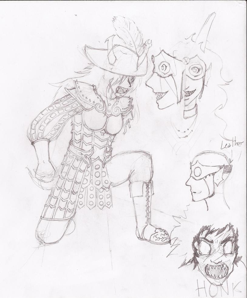 Sketchdump 01-15 2 by hueynomure