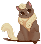 Cream Kitty by yancn6b