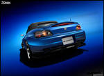 Honda S2K Deep Blue