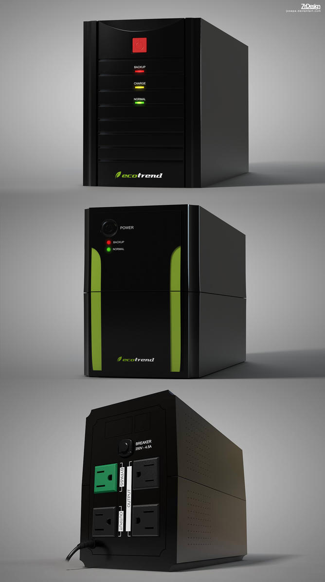 UPS Energy System by josepa