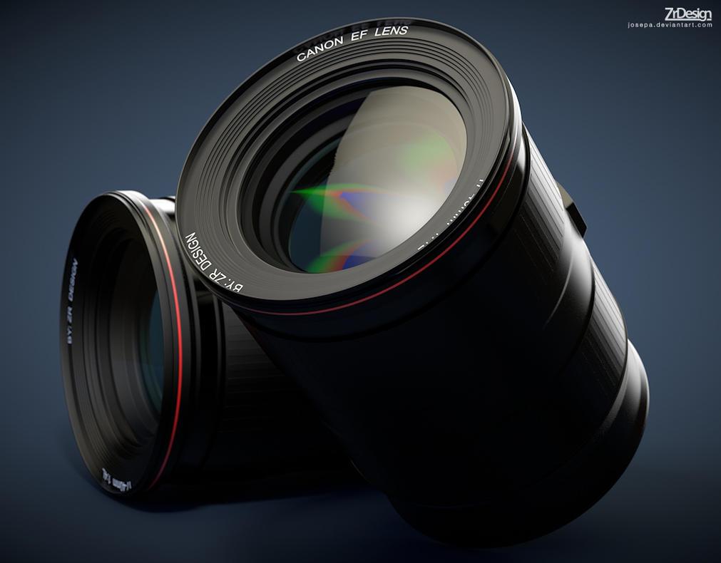 Canon 3D Camera Lens by josepa