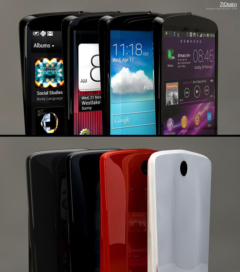 3D smartphone by josepa