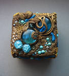 Polymer Clay jewelry boxes