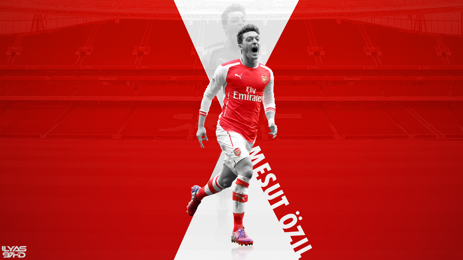 Mesut Ozil Wallpaper 2014/2015 By Ilyas97HD On DeviantArt