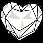 Heart Crystal Base