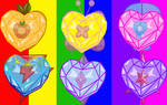 Heart Crystals of Harmony