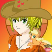DigiDestined Applejack by Sasami87