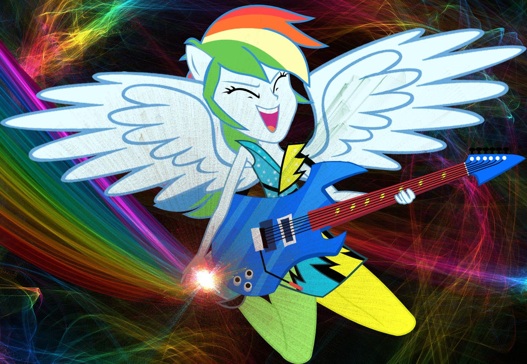 Rockin Rainbow Power! by Sasami87