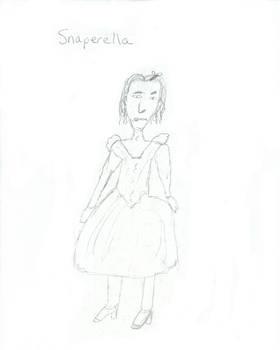Snaperella - Snape ala Cinderella of course
