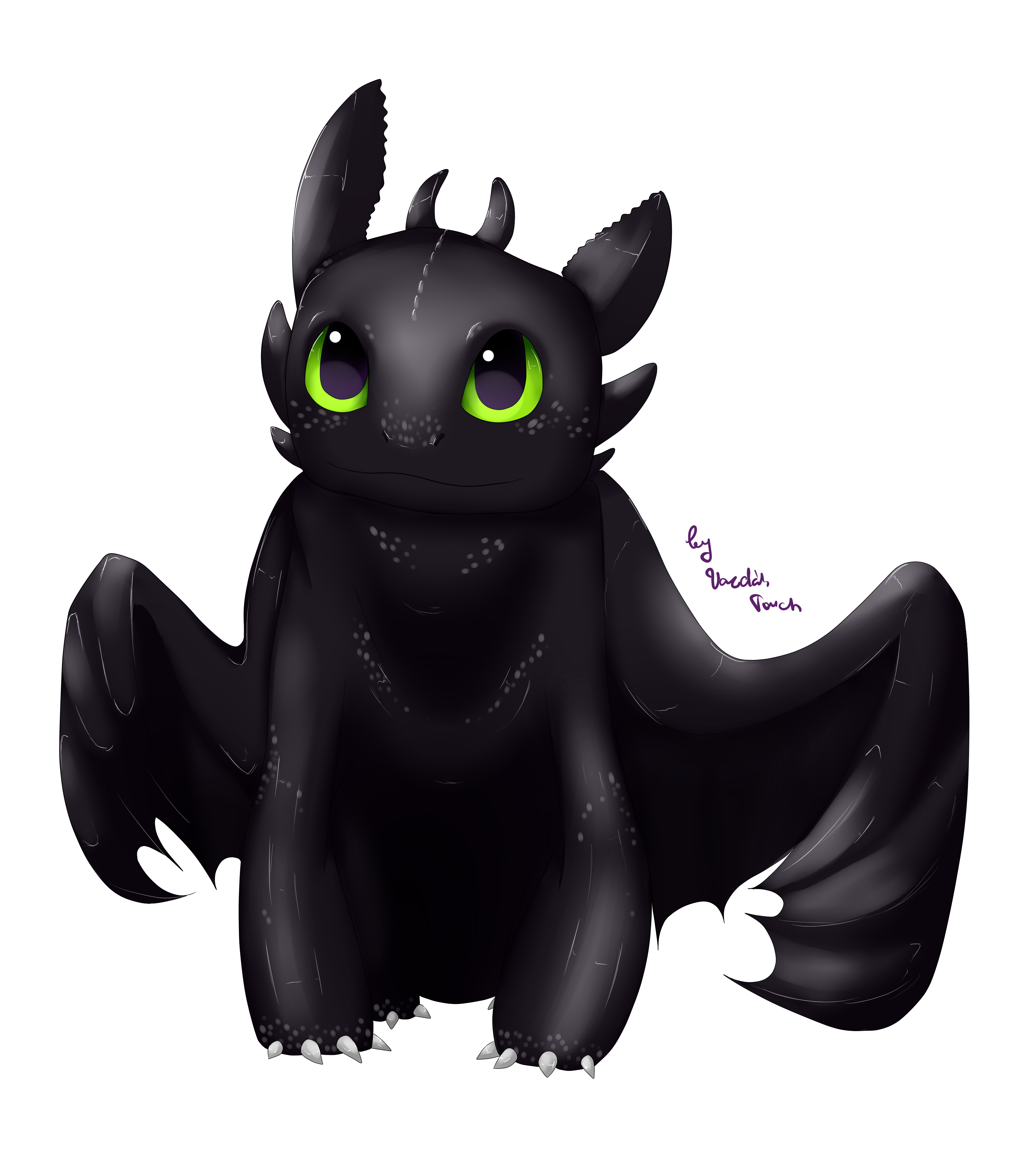 Toothless Wallpaper: HTTYD:. By VardasTouch On DeviantArt