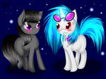 Octavia and Vinyl Scratch