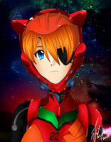 Evangelion 3.0 - Asuka by VardasTouch
