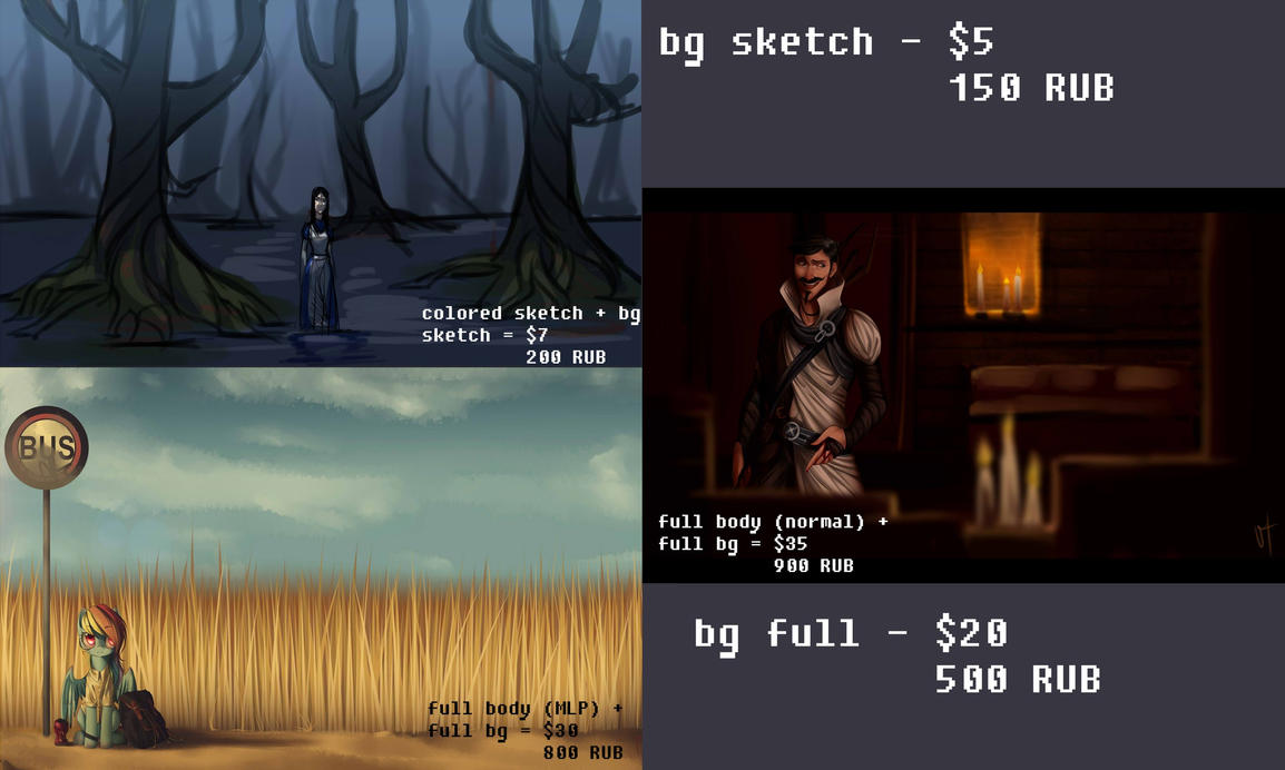 pricelist II by VardasTouch