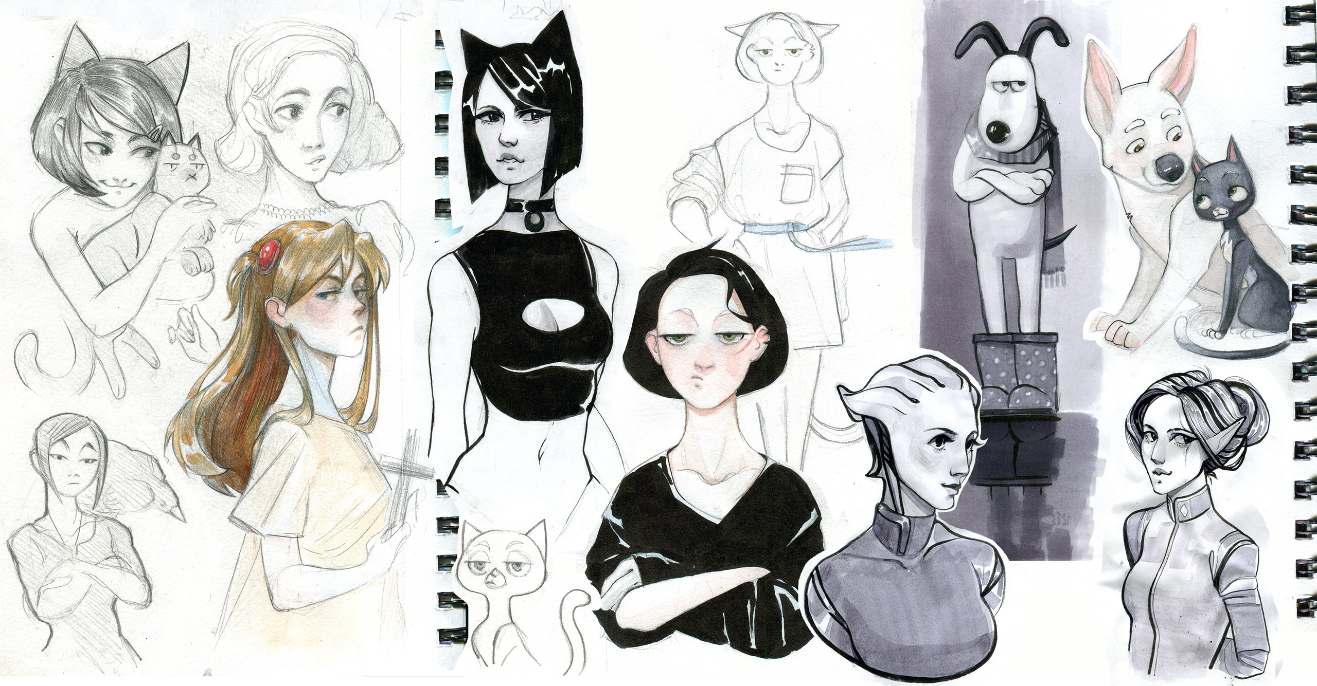 sketches by VardasTouch