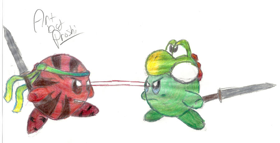Melon and Newts Rivalry by Proshi