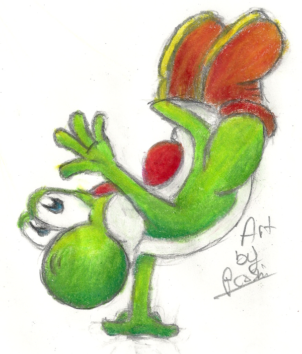 Yoshi Handstand!  XD by Proshi