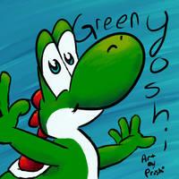 Green Yoshi Free Avi by Proshi
